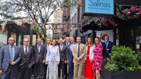 Encuentro de Reyes Maroto con el sector turístico en Nueva York