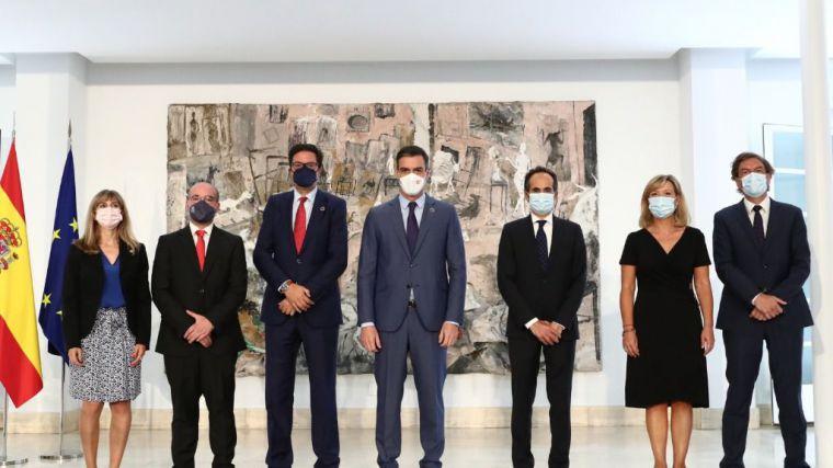 Pedro Sánchez preside las tomas de posesión de altos cargos de Presidencia del Gobierno