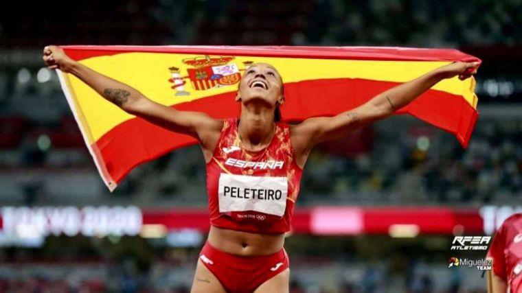 Tokio 2020: La riveirense, gallega y española Ana Peleteiro, bronce en Triple Salto