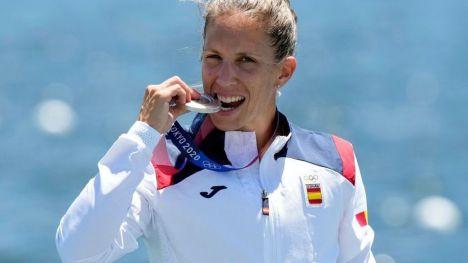La gallega Mª Teresa Portela, logra la plata en sus sextos JJOO a los 39 años