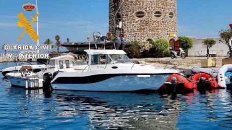 La Guardia Civil detiene a un residente de Ceuta e interviene 38 kilos de hachís