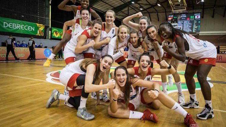 Baloncesto: Un gran último cuarto ante Japón mete a la U19 Femenina en cuartos de final