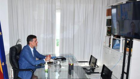Pedro Sánchez ha seguido en directo el operativo español de evacuación de Afganistán