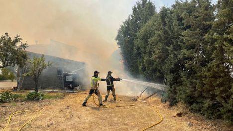 El cambio climático y el abandono rural están detrás del incremento de los 'superincendios'