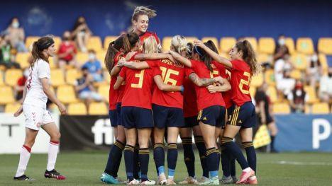 La Selección española femenina, por primera vez, entre las diez mejores del mundo
