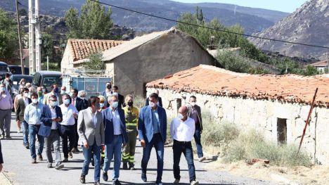 'Compromiso total' del Gobierno con las comunidades afectadas por los incendios este verano
