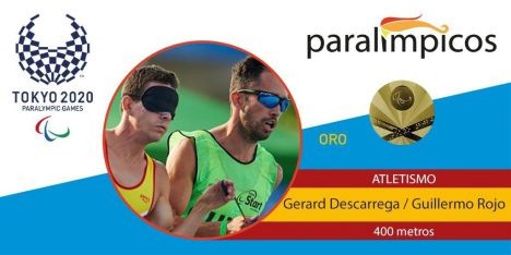 El mejor deportista ciego del mundo en dar la vuelta a una pista de atletismo es español