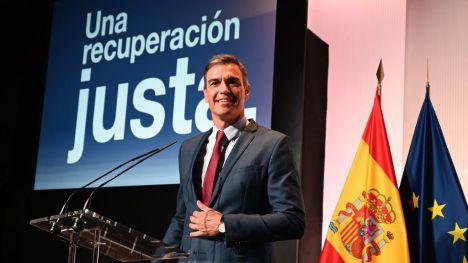 Pedro Sánchez avanza que los PGE 2022 van a consolidar la recuperación económica justa
