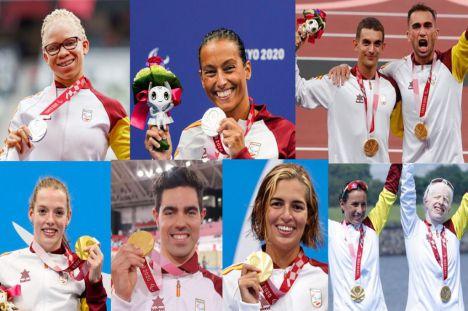 España termina con 36 medallas los Juegos Paralímpicos de Tokio 2020