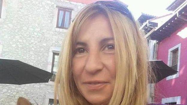 La víctima, Paz Fernández Borrego