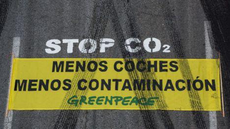 Greenpeace arranca la Semana de la Movilidad exigiendo medidas