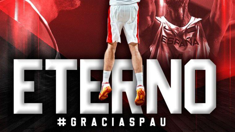 Baloncesto: Pau Gasol deja las pistas
