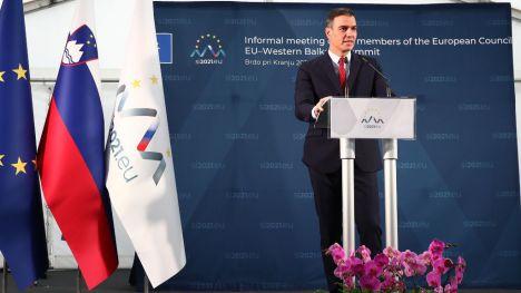 Sánchez defiende que Europa debe actuar unida frente a la subida de los precios de la energía