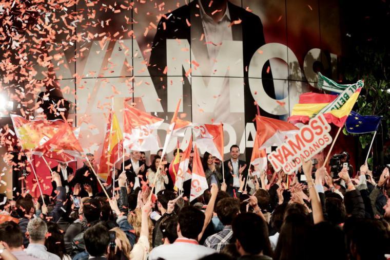 """Rivera: """"Más pronto que tarde gobernaremos España"""""""