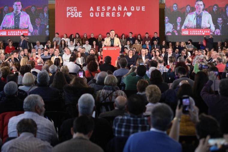 """Sánchez: """"El PSOE va a tender la mano a todos los partidos para llegar a acuerdos"""""""