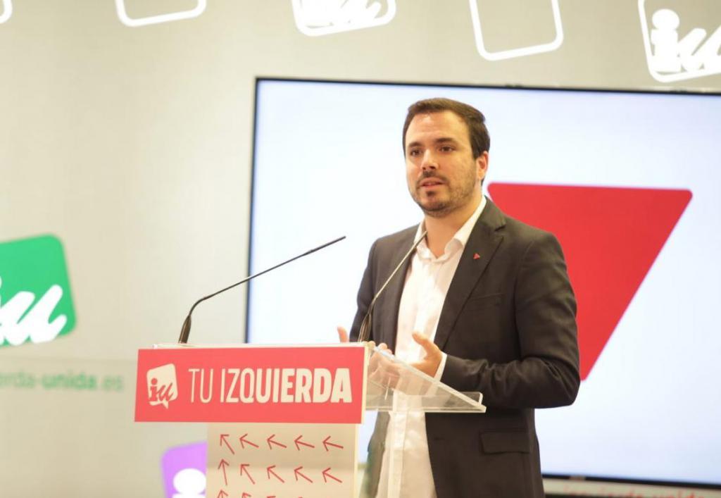 """Garzón sitúa a IU y Unidas Podemos como única garantía contra la """"amenaza reaccionaria"""" de la derecha"""