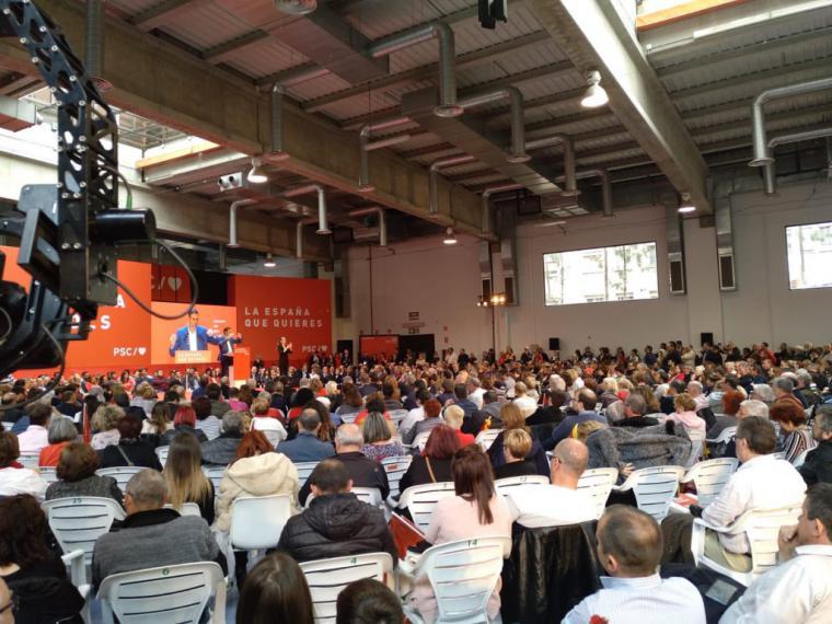 """Sánchez: """"El futuro y la convivencia están en las urnas"""""""
