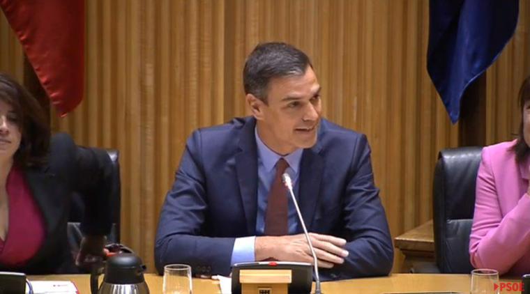 Sánchez presenta sus grandes pactos de legislatura