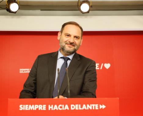 """Ábalos: """"El PSOE se consolida como el proyecto político preferido por los españoles y españolas"""""""