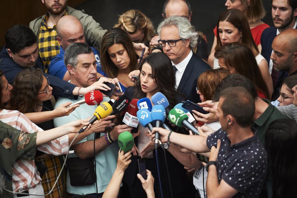"""Arrimadas: """"Hemos luchado hasta el final para intentar que el PSOE recapacitara, pero ha sido imposible"""""""