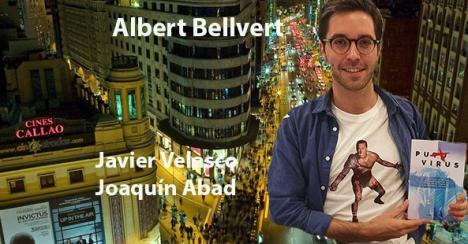 'Puto Virus', el debut editorial de Alber Bellvert
