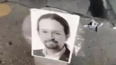 Detenido en una playa de Málaga el hombre que se grabó disparando contra fotos de Sánchez e Iglesias