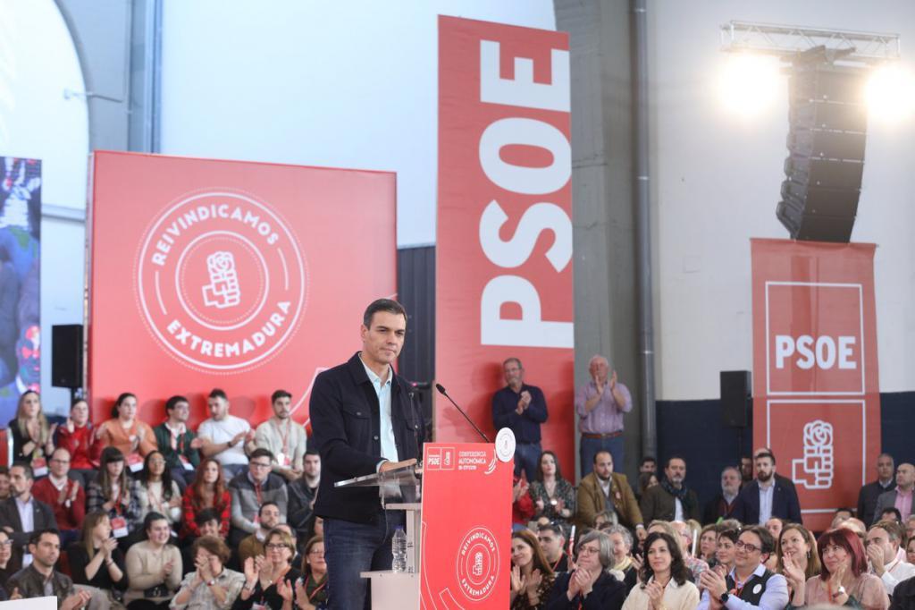"""Sánchez: """"Apelo a la España moderada y sensata que quiere progresar y no retroceder"""""""