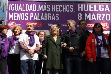 """Manuela Carmena: """"El feminismo es una fuerza imparable de progreso"""""""