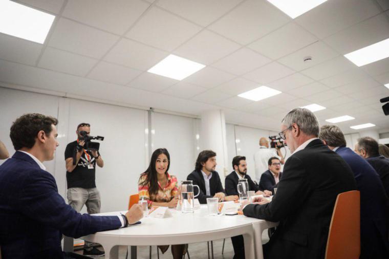 """Villegas: """"El cambio va a llegar porque Ciudadanos es decisivo"""""""