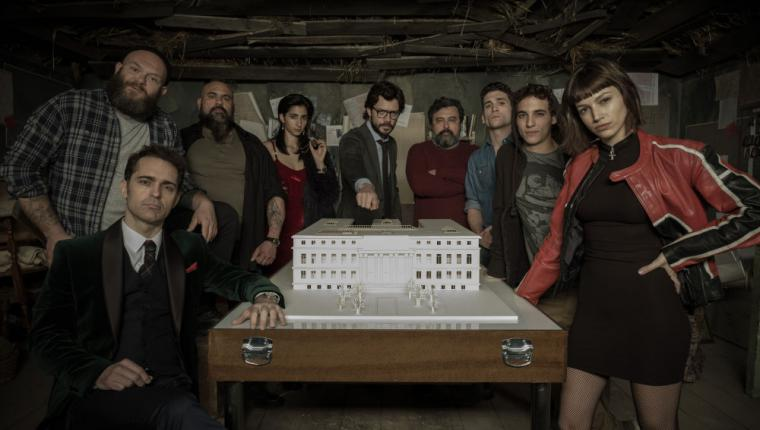 'La casa de papel', nominada al Emmy Internacional como mejor Drama