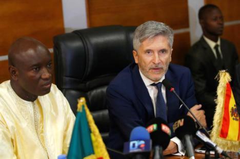 """Marlaska defiende ante países africanos una """"migración legal, segura y ordenada"""""""