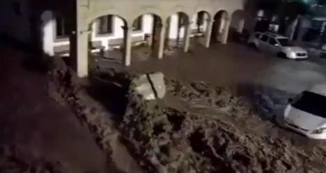 Muere intentando salvar a su hijo de la riada