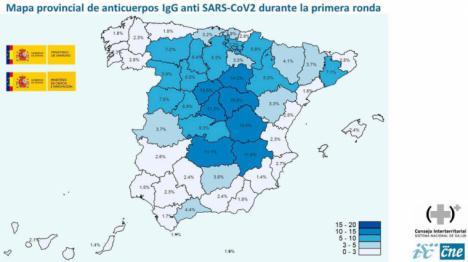 Coronavirus: Solo un 5% de la población española ha pasado la enfermedad