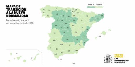 Medidas de flexibilización para los territorios en fase 2 y fase 3