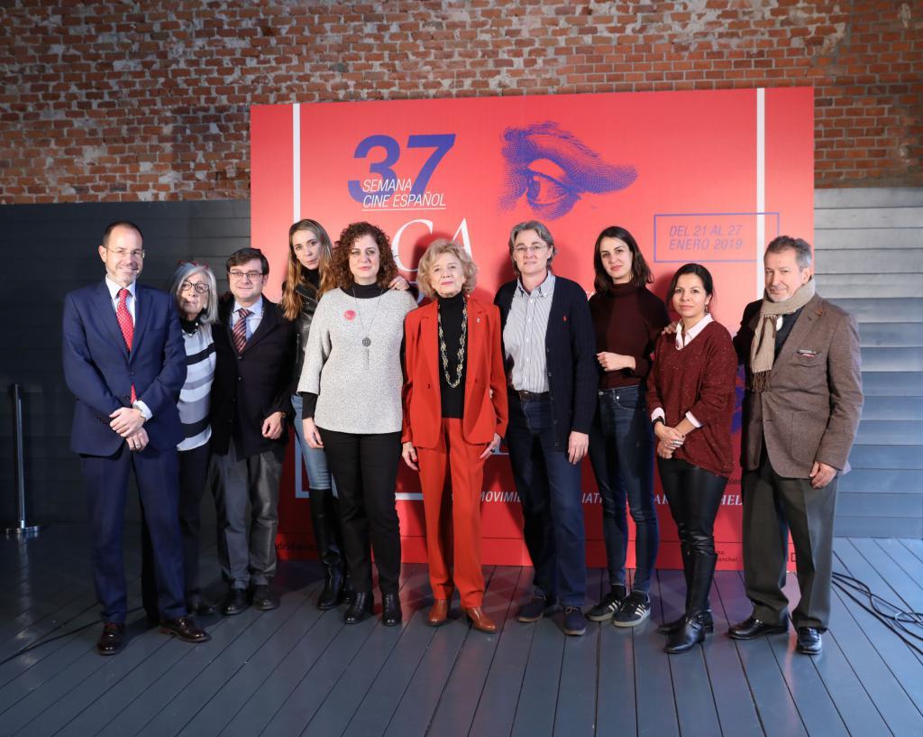 """Carmena entrega el premio """"Puente de Toledo"""" a Marisa Paredes"""