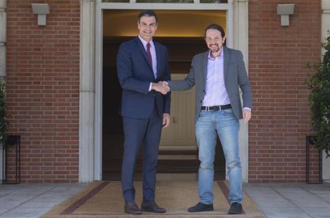"Iglesias cree que ""aún es posible sacar adelante un gobierno de coalición"""