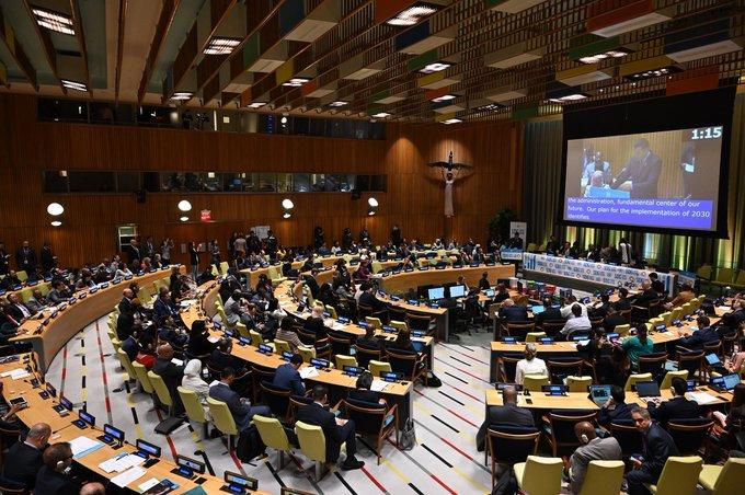 Pedro Sánchez reivindica en la ONU la Agenda 2030 como hoja de ruta del Gobierno español