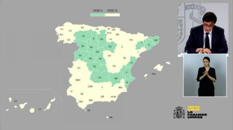 Más de la mitad de España pasará el lunes a la fase 3 de la desescalada