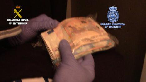 Intervenidas en Cádiz cerca de tres toneladas de hachís a una organización de narcotraficantes