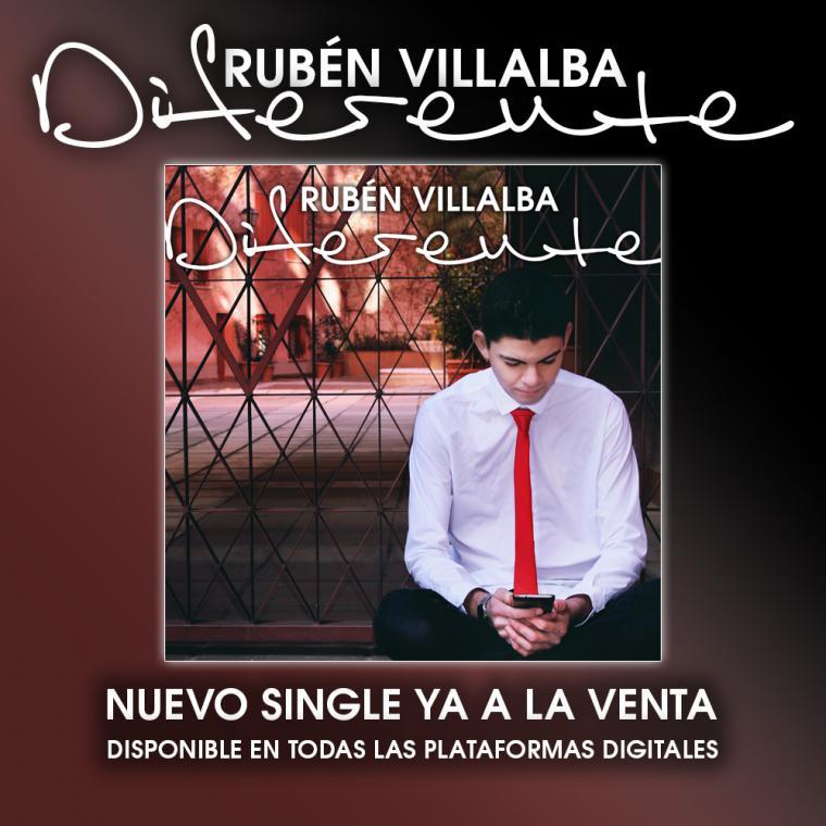 Rubén Villalba contra la homofobia en su segundo sencillo, 'Diferente'