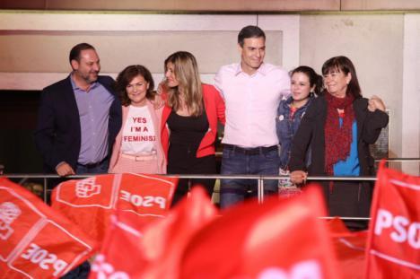 """Pedro Sánchez: """"Ha ganado el futuro y ha perdido el pasado"""""""