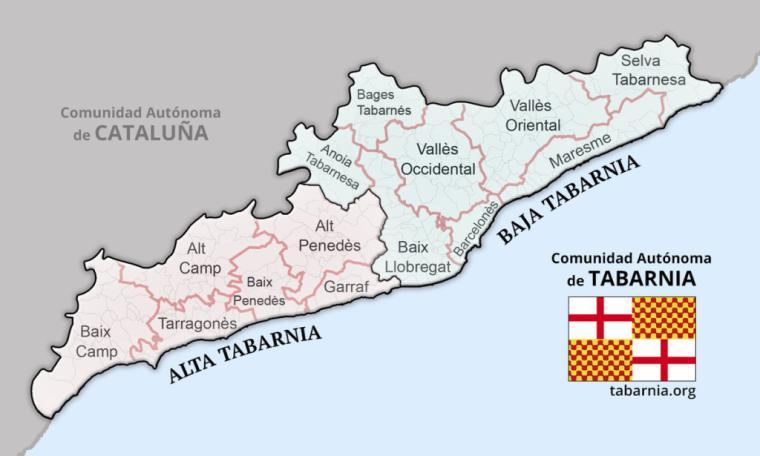 """Tabarnia dice """"Hola"""" a España"""