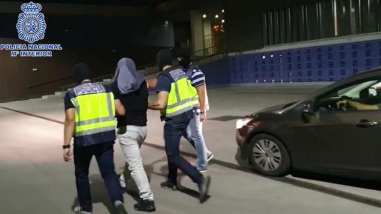 La Policía detiene a un presunto terrorista en Barcelona sobre el que pesaba una Orden Internacional de Detención