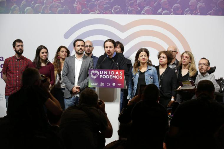 """Iglesias: """"Somos imprescindibles para que haya un Gobierno de izquierdas"""""""