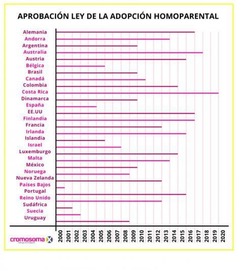 Adopción homoparental en el mundo: Una realidad compleja