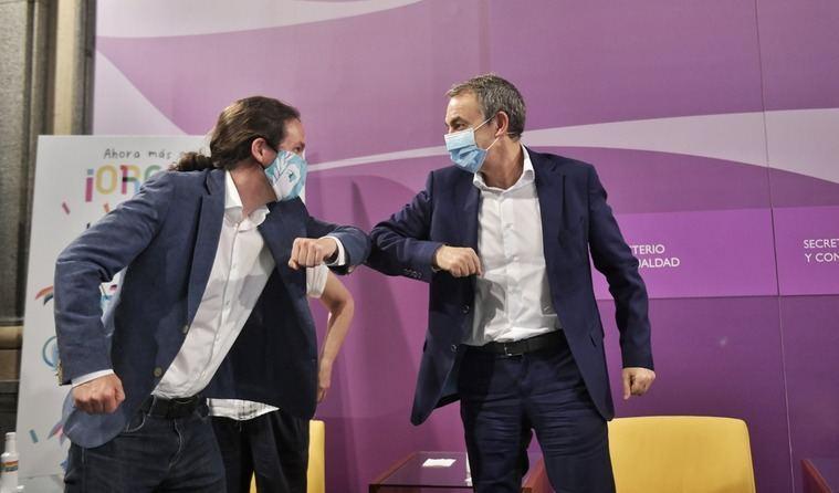 Iglesias pide al PSE que pacte un gobierno con EH Bildu como reflejo de la normalización vasca